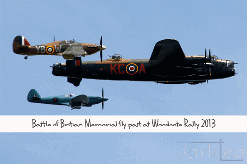 Battle of Britain Memorial fly past