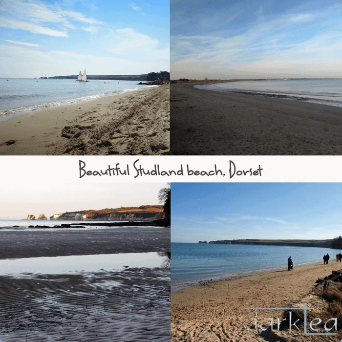 A sandy beach next to a body of water - Studland beach, Dorset