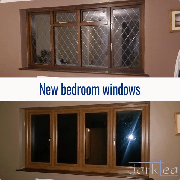 New bedroom windows