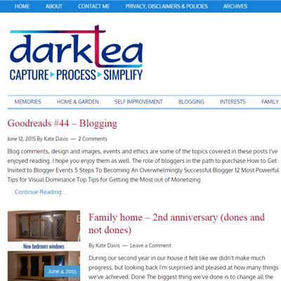 A new blog theme