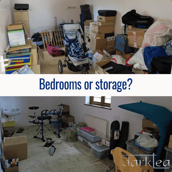 Bedroom or storage