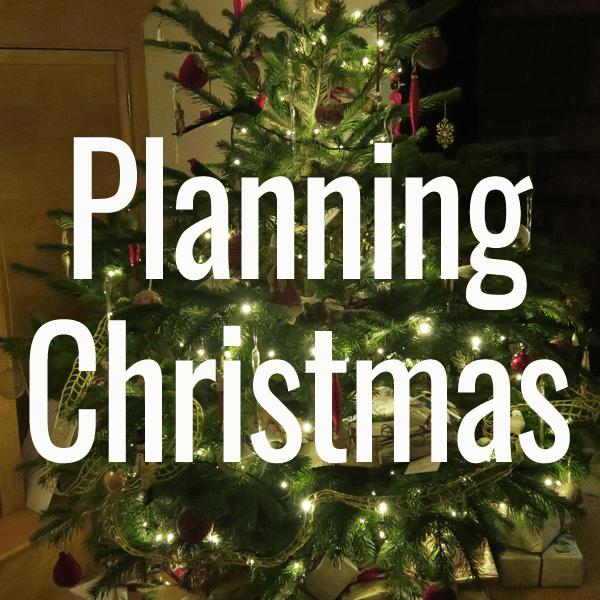 planning christmas
