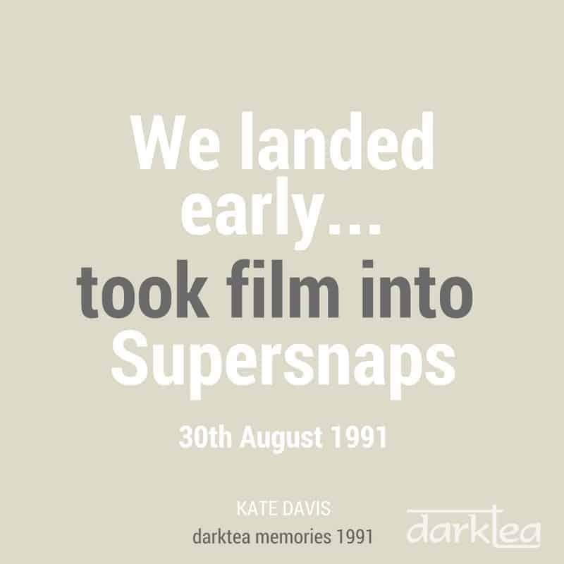 Took film into supersnaps