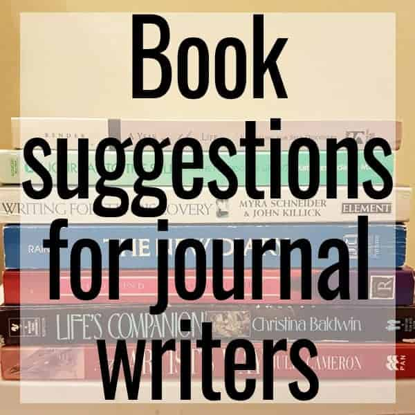 books suggestions for journal writers