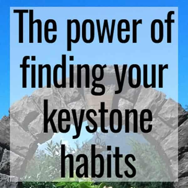 the power of finding your keystone habits