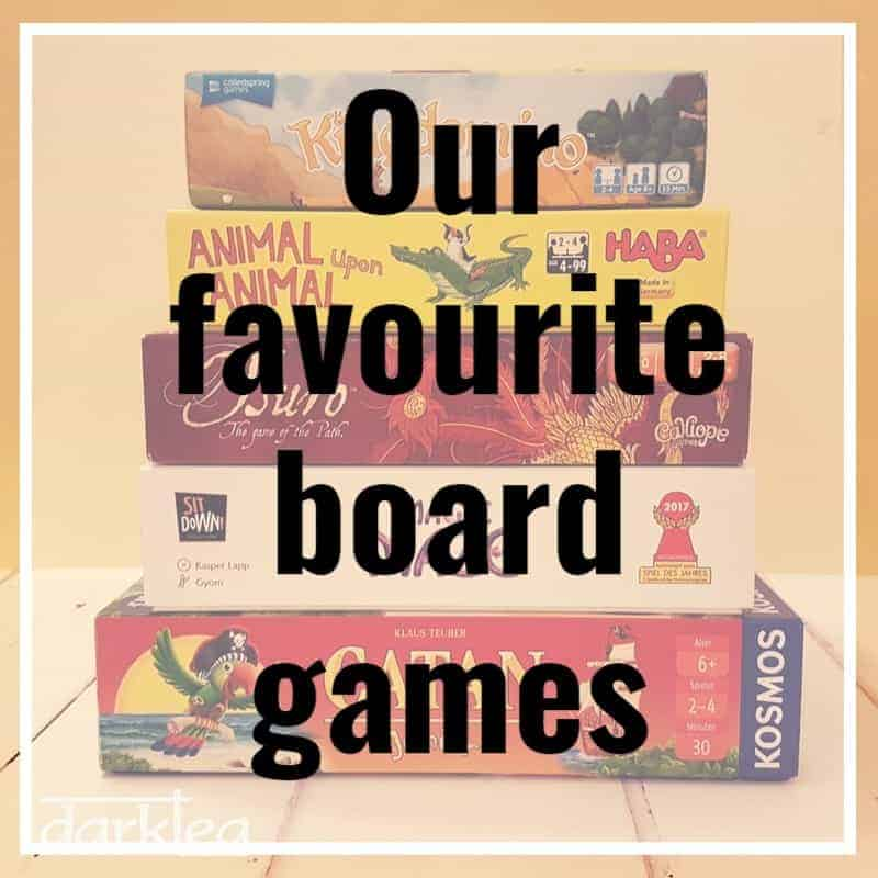 our favourite board games