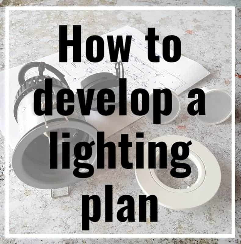 How to develop a lighting plan