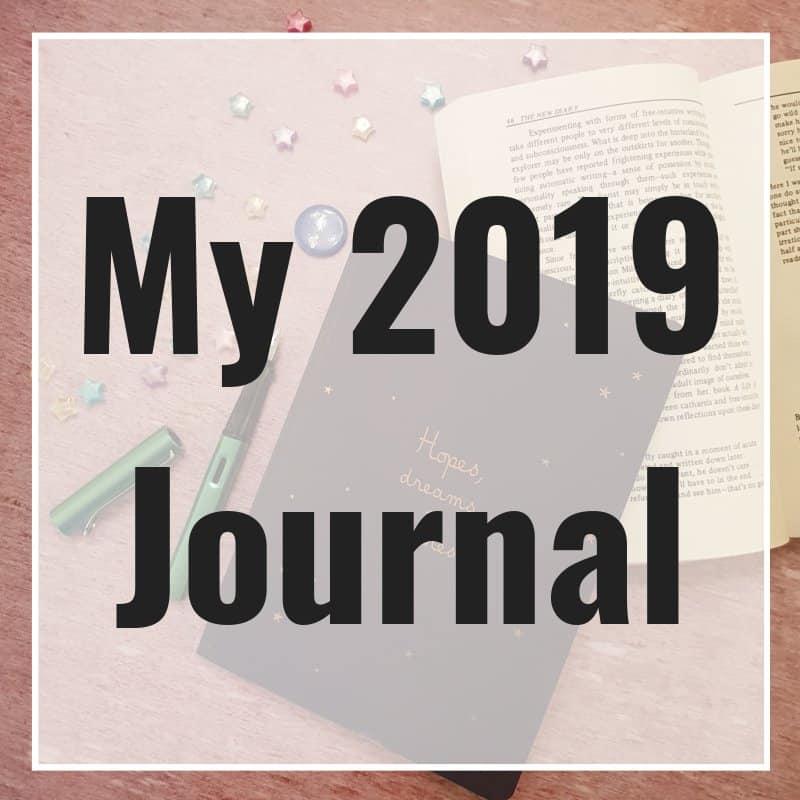 My 2019 Journal